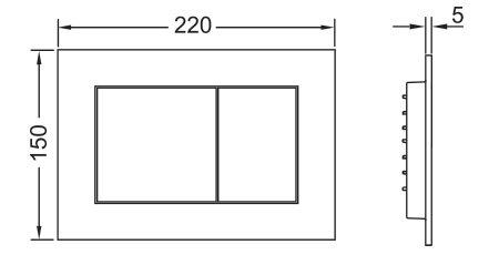 תמונת לחצן TECEnow 9240402 2